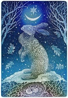 hare moon winter