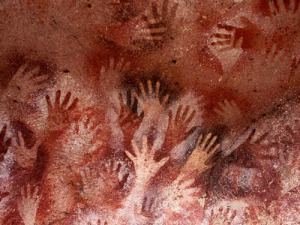 Lascaux hands